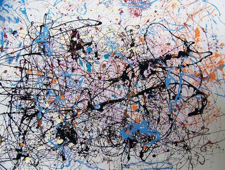 Jackson Pollock: Maestro del expresionismo abstracto » Trianarts