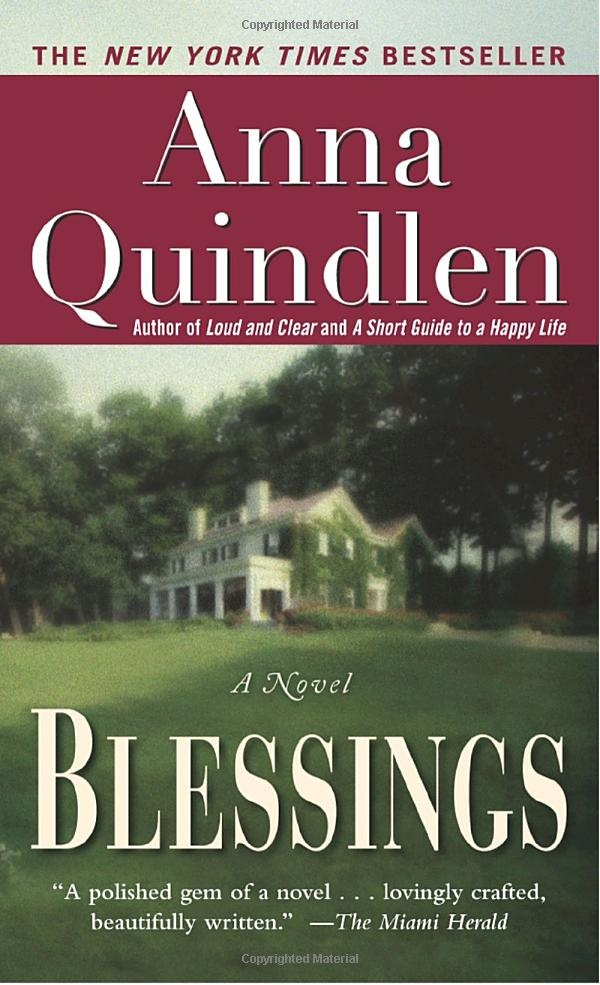 Blessings by Anna Quindlen - loved this book.