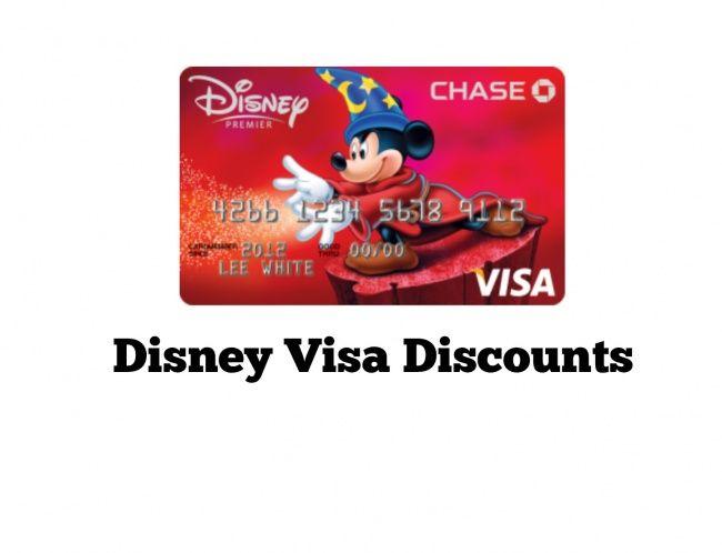 Disney Rewards Visa Card Benefits and Perks for Deals on Walt Disney World