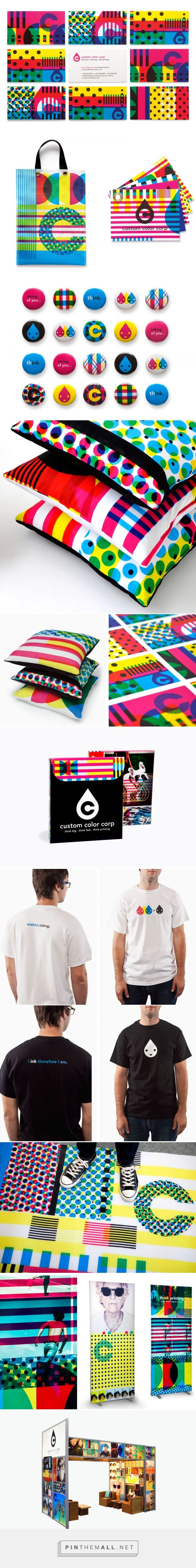 Custom Color Corp. Branding by Design Ranch | Fivestar Branding – Design and Branding Agency & Inspiration Gallery