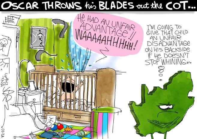 Jerm - Oscar Pistorius Paralympics Olympics blade runner