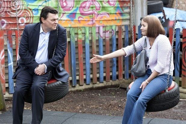 Derek and Alice Branning played by Jamie Foreman and Jasmyn Banks