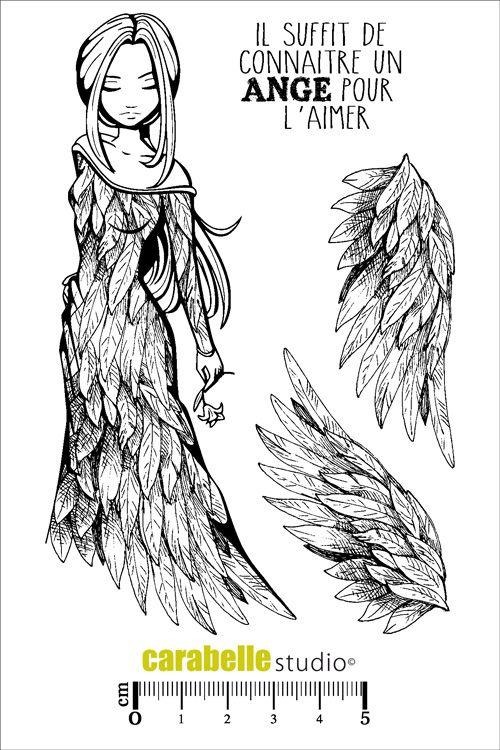 Tampon : Un ange à aimer par Carabelle Studio