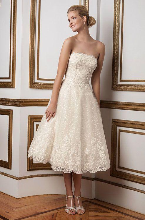 223 Best Images About Short Wedding Dresses On Pinterest