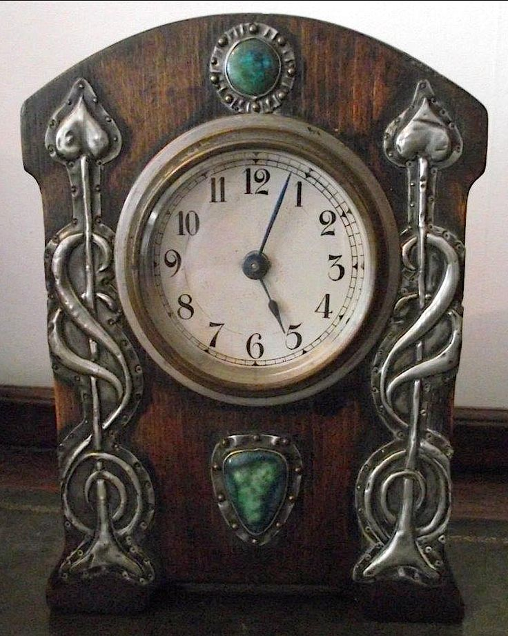 1000 images about arts and crafts movement clocks on for Small clocks for crafts