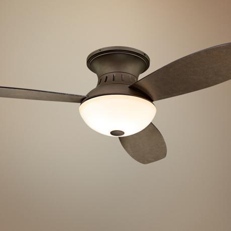 52 possini euro encore bronze hugger ceiling fan master bedrooms vintage and ceilings - Master bedroom ceiling fans ...