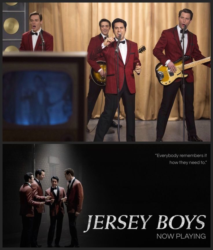 """Jersey Boys (2014)...just saw this movie and enjoyed it thoroughly. Certainly, the best movie I've seen this winter. Directed By: Clint Eastwood. Cast: John Lloyd Young - Frankie Valli, Erich Bergen - Bob Gaudio, Michael Lomenda - Nick Massi, Vincent Piazza - Tommy DeVito, Christopher Walken - Angelo """"Gyp"""" DeCarlo, John Cannizzaro - Nick DeVito,  Mike Doyle - Bob Crewe."""
