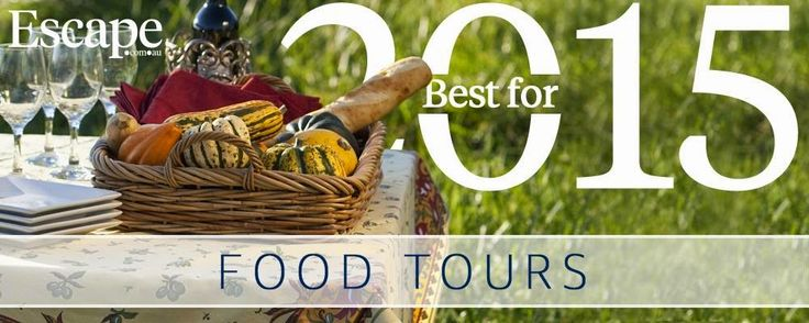 Escape's Top Food Tours for 2015