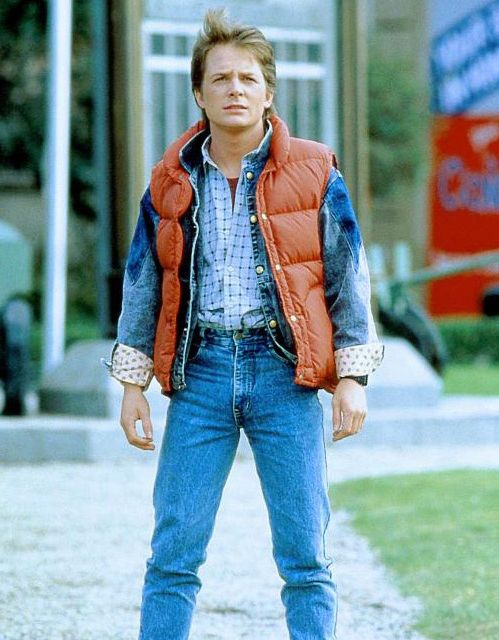 """""""Back to the future""""Film, Michael J Foxes, Halloween Costumes, Future, Michael J. Foxes, 80S90S Movie, Marty Mcfly, Halloween Ideas, 80S Movie Costumes"""