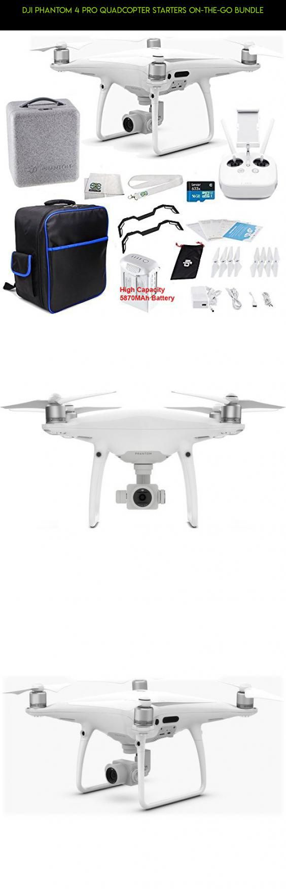 DJI Phantom 4 PRO Quadcopter Starters On-The-Go Bundle #pro #products #phantom #parts #racing #bundle #kit #plans #gadgets #4 #technology #tech #dji #camera #fpv #drone #quadcopter #drone #kit #shopping