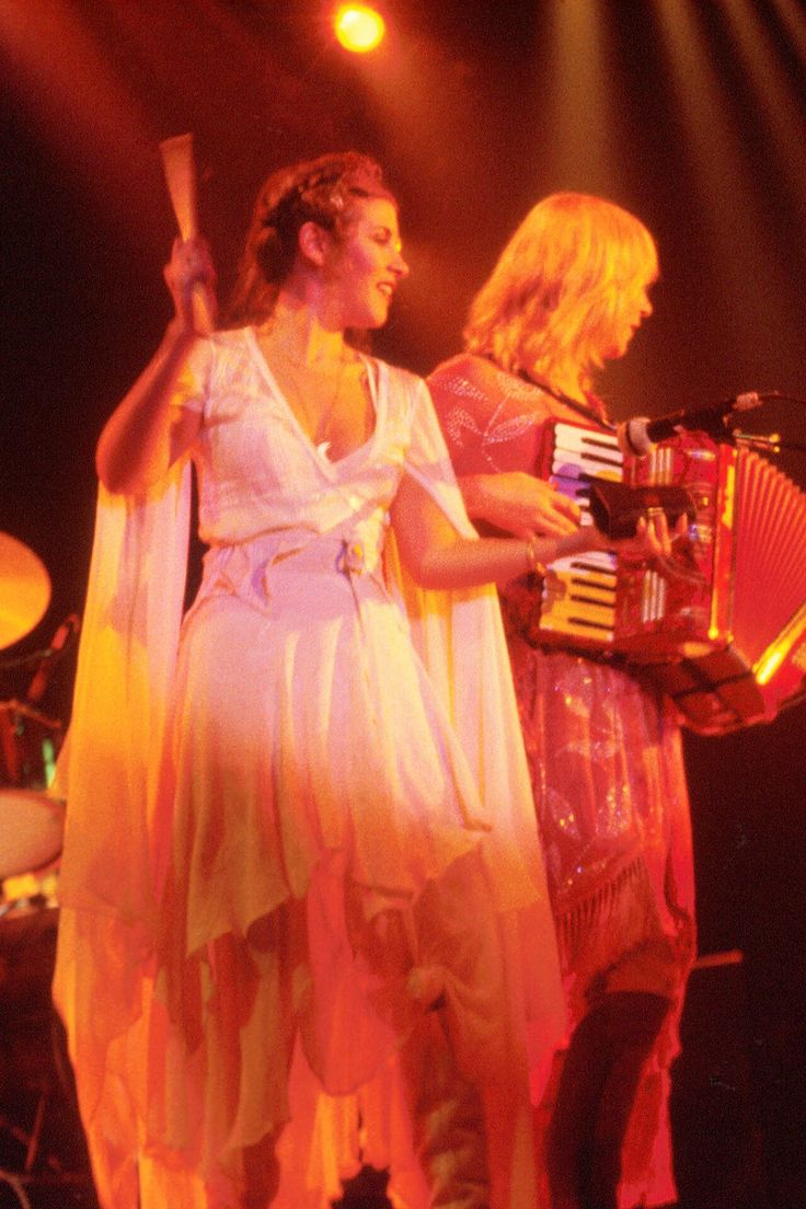 Stevie Nicks and Christine McVie, Fleetwood Mac