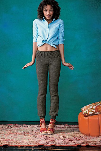 Ravelry: Knitted Pants pattern by Kristina McGowan---what!? With Darn Good Yarn silk cloud, yes please!!!