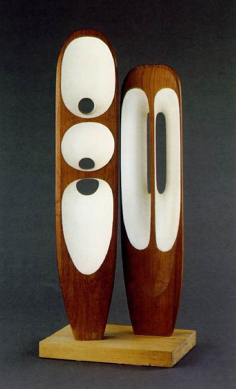 Barbara Hepworth. I wonder if this beautiful form could be used as the basis for a loudspeaker.