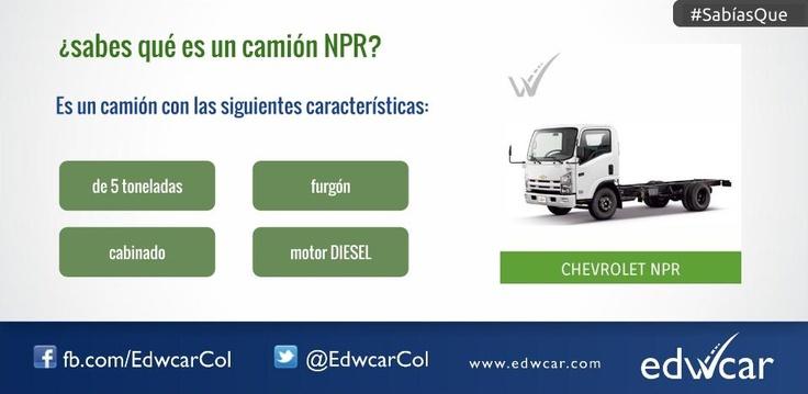 ¿Sabes qué es un camión NPR?