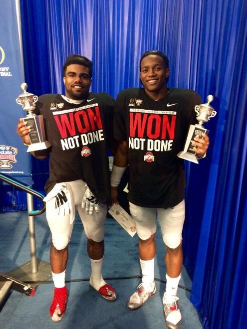 Ezekiel Elliot & Darron Lee - Sugar Bowl MVPs