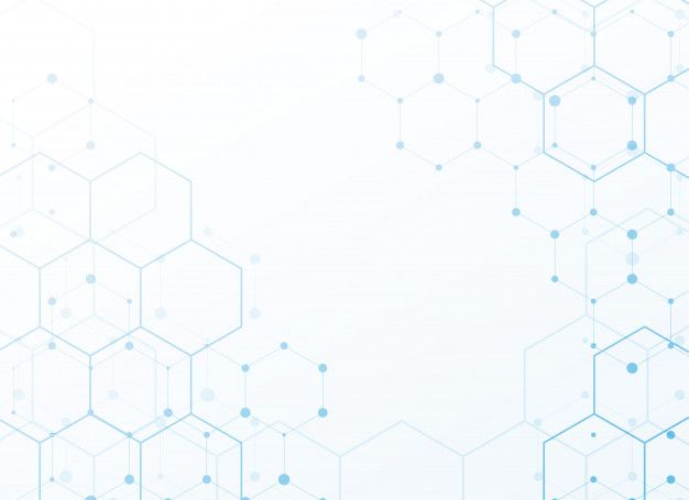 Download White Background With Blue Tech Hexagon For Free Vector Free Vector Background Graphics Background Design Vector White background images hd download