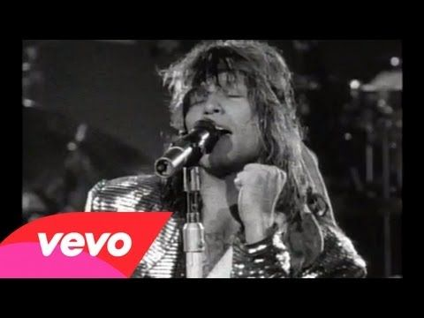 "Wanted Dead Or Alive - BON JOVI Slippery When Wet (1986) The story is legend: Jon Bon Jovi and Richie Sambora ride into the 1989 MTV Video Music Awards, do the acoustic-duo thing on ""Wanted Dead or Alive,"" and before you can say ""dreadnought,"" the Unplugged series is born. The song is no slouch either."