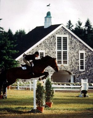 Riding a horse is not a gentle hobby, to be picked up and laid down like a game of Solitaire. It is a grand passion.