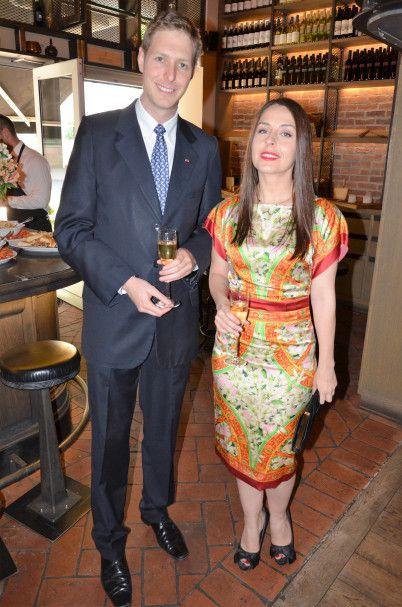 His Royal Highness Crown Prince Leka II and Miss Elia Zaharia