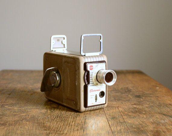 1950s Kodak Brownie 8mm camera. So would love this.