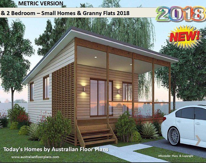 Small Houses Granny Flats Home Design Book Australian And International Home Plans In 2020 Bedroom House Plans House Plans Australia 2 Bedroom House Plans