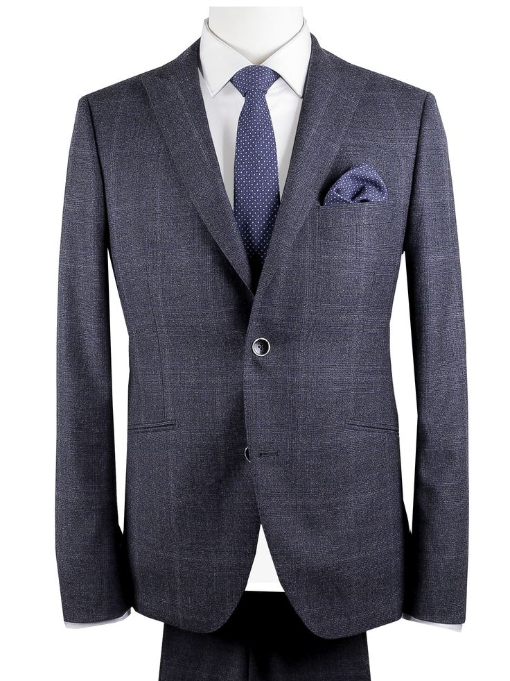 Fragosto Exclusive Tailors Italy - slim fit three pieces suit
