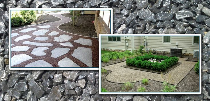 Drainage Gravel Cell : Best images about patio pathway types ideas on
