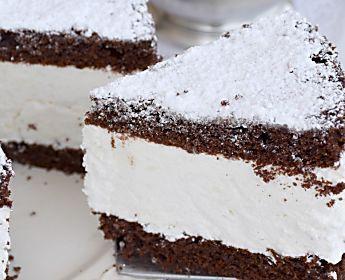 Torta Fiocco di neve al cioccolato torte facili e fresche