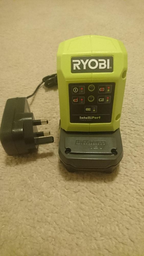 Ryobi Battery and Charger BNWOT *One+ 18v Lithium DIY Garden Tools*