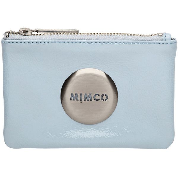 Mim Pouch ($52) ❤ liked on Polyvore featuring bags, handbags, clutches, fillers, riviera blue, mimco handbags, water resistant pouch, blue handbags, water resistant purse and blue clutches
