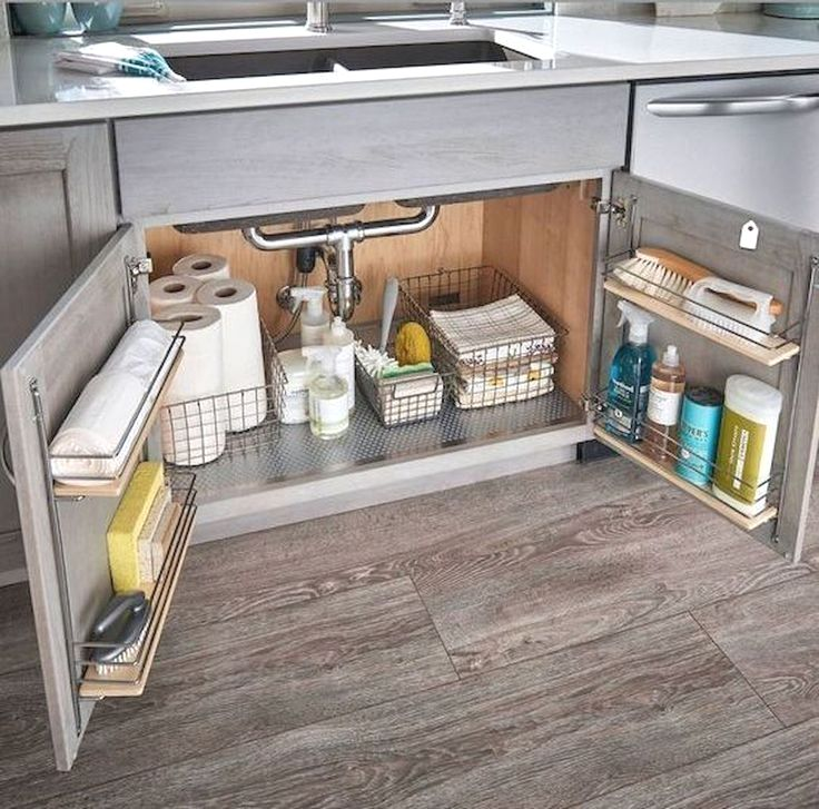65 Brilliant Kitchen Cabinet Organization And Tips Ideas Small