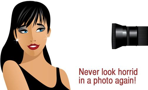 Awesome makeup tips for looking better in photos. (Lauren u would enjoy reading this as good as u r with makeup)