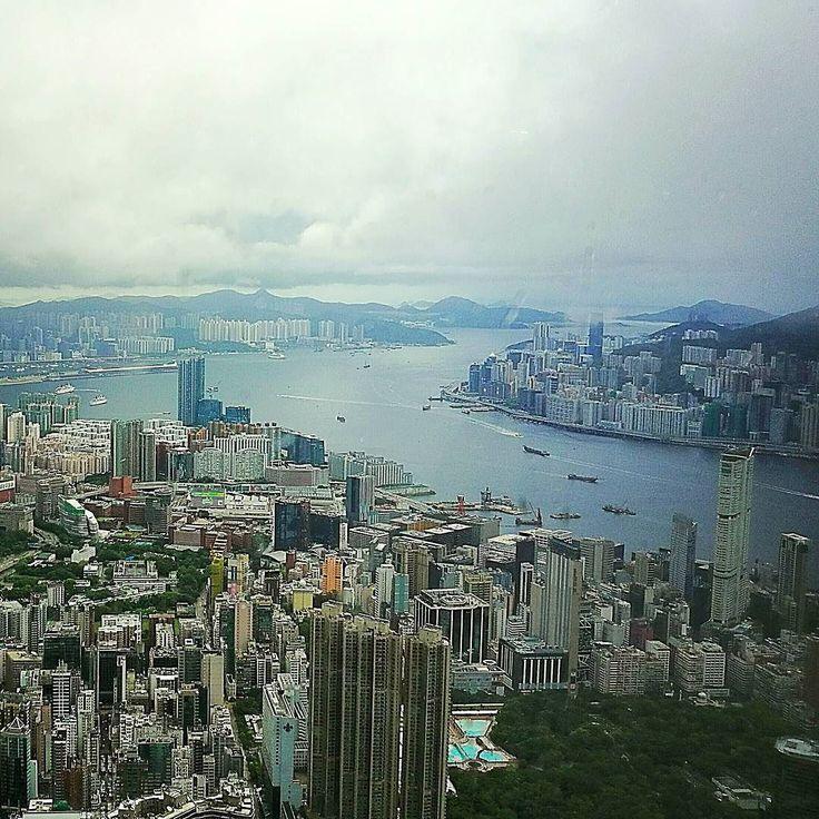 112 floor. Magical place. #HongKongFromAbove #RCMemories