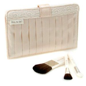 Portable Mini Brush Set ( 3 Brushes ) - Paul & Joe - Accessories - Portable Mini Brush Set - 3pcs+1case by Paul & Joe. $43.78. This set contains 1 x elegant pouch 3 x miniature brushes Convenient to carry around Perfect for personal use or as a gift - Paul & Joe - Accessories - Portable Mini Brush Set