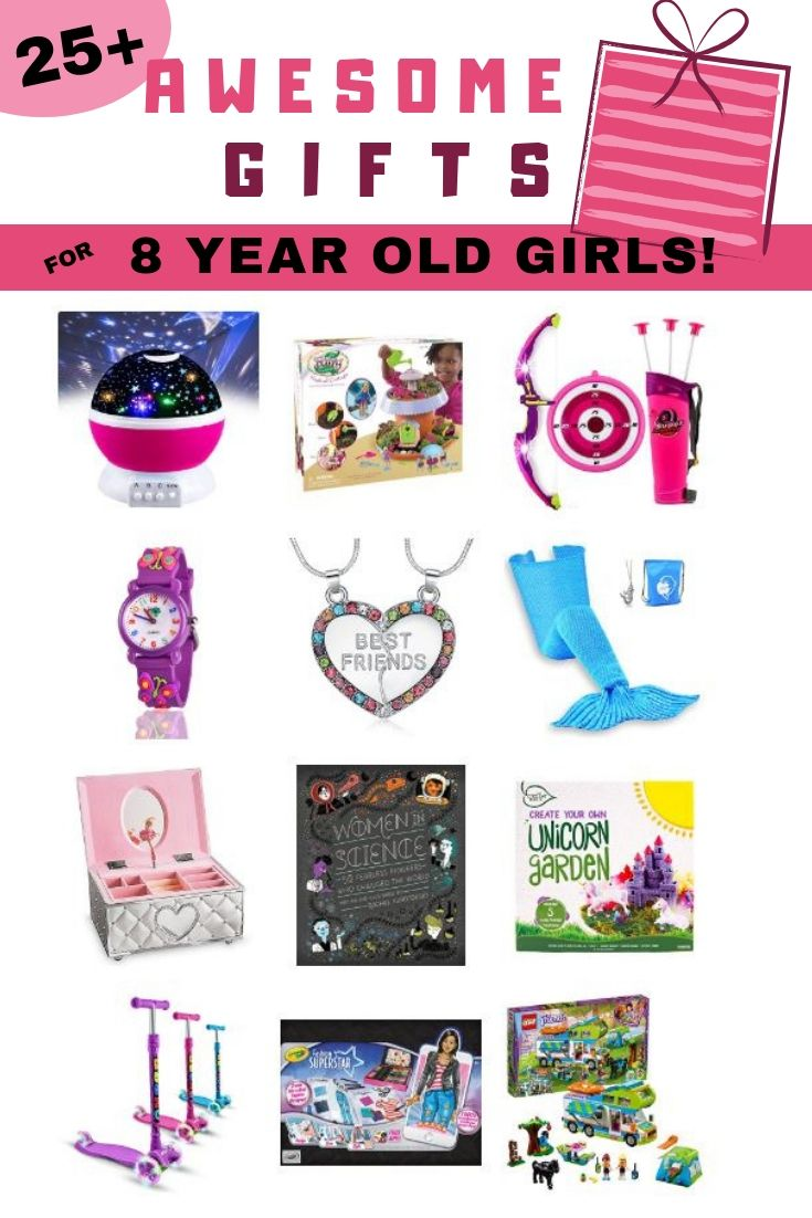 25 Spectacular Gift Ideas For 8 Year Old Girls That WILL NOT