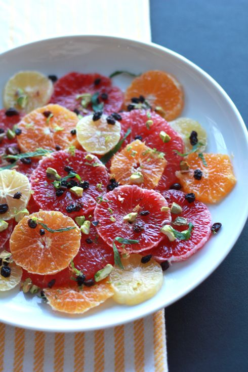 Winter Citrus Salad - Made By Girl | Salads | Pinterest