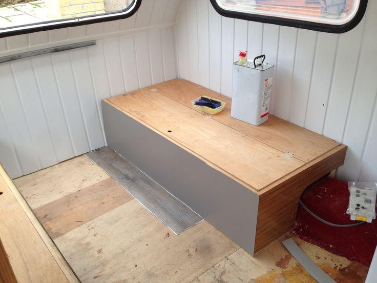 1989 Freedom Microlite caravan interior refurb renovation making progress