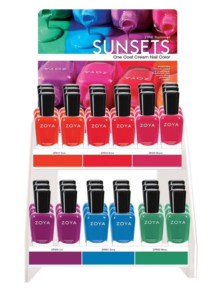 Nail A College Drop Out: Zoya Seashells & Sunsets  Press Release 
