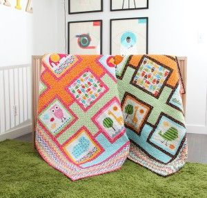 Happy Menagerie Quilt Kit http://quilting.myfavoritecraft.org/baby-quilt-patterns/