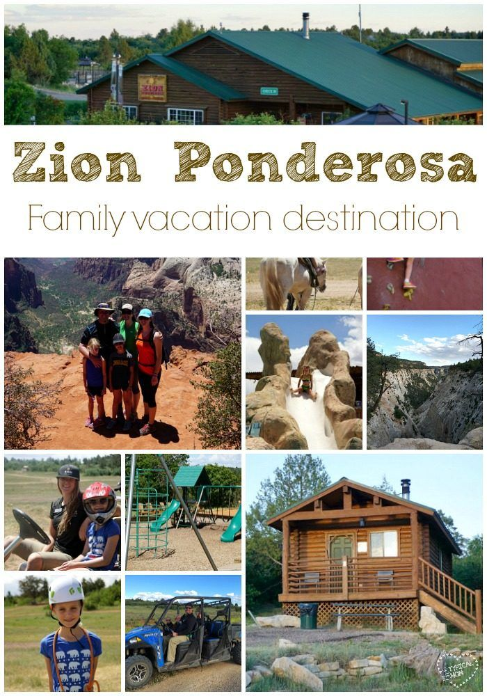 One of the best vacations we've ever taken!! Check out Zion Ponderosa in Utah for the ultimate family vacations.