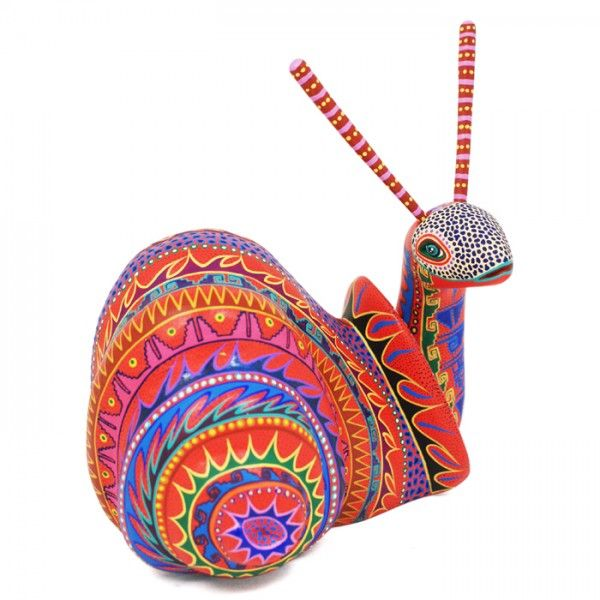 Orlando Mandarin Snail- #woodcarving Oaxaca Mexico
