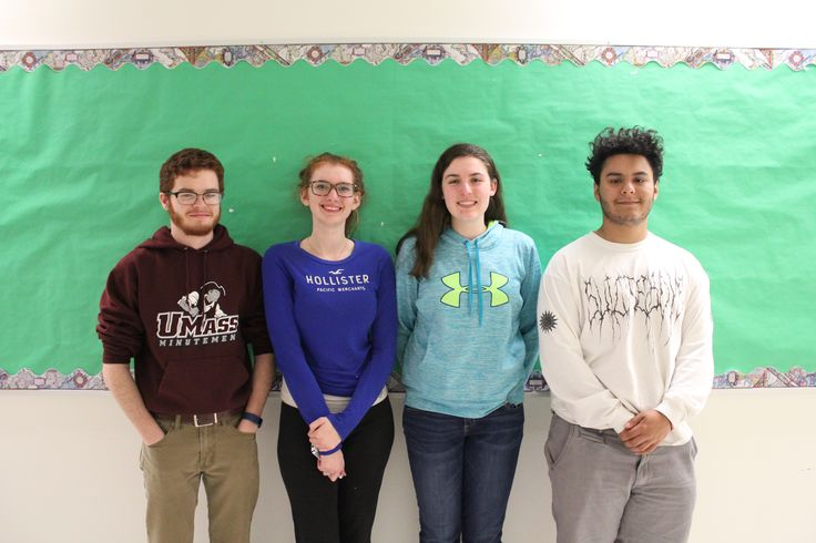 Congratulations Victoria Galvin, Cassandra Moran, Josh Teixeira, Marcus Valentin & David Youngerman on getting a jump start on college. All received 12 college credits by participating in the Quinsigamond Community College Future Steps program at Hudson High. ‪#‎HudsonMA‬ ‪#‎collegebound‬ ‪#‎QCC‬ ‪#‎HudsonHighSchool‬