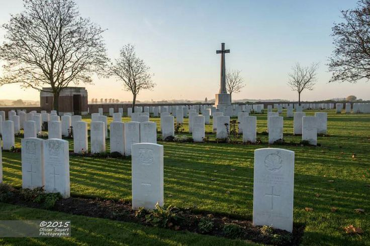 Chester Farm Military Cemetery, Ypres, Belgium