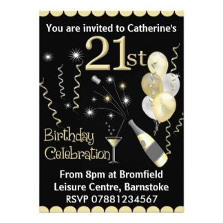 Best Invites Images On Pinterest Birthday Ideas Cards And - 21st birthday invitations gold coast