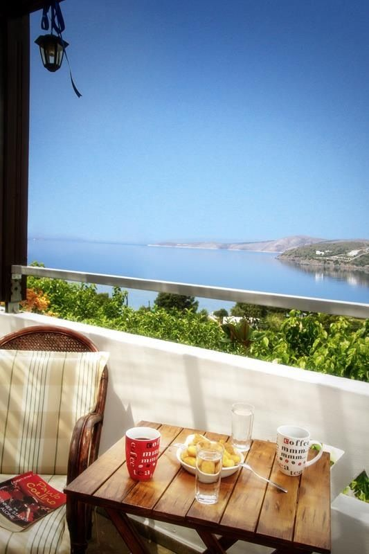 Thalassia Studios Skyros Greece Fully equipped apartments with superb sea view #skyros #greece