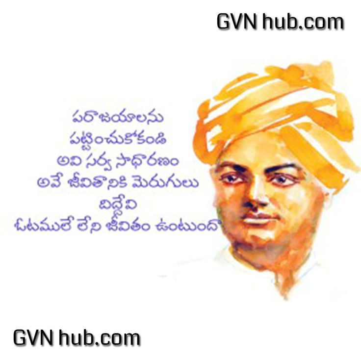 Swami Vivekananda Success Quotes In Hindi: Best 25+ Telugu Inspirational Quotes Ideas On Pinterest