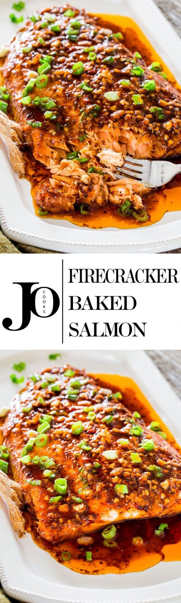 Get the recipe ♥ Firecracker Baked Salmon @recipes_to_go