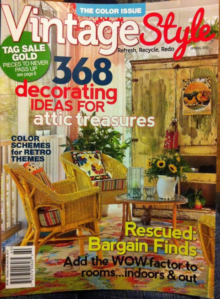 Vintage Style Magazine Country Almanac