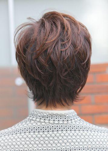 60代女性の髪型 ショートヘア ボブの人気カタログ50選 60代 髪型