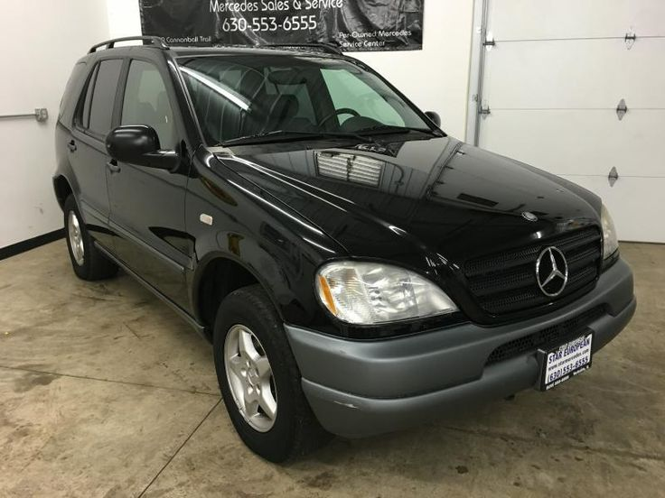 1998 Mercedes-Benz M-Class AWD ML320 4dr SUV In Yorkville IL - Star European Imports